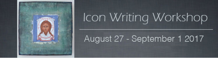 Icon Writing, Aug 27 – September 1 2017