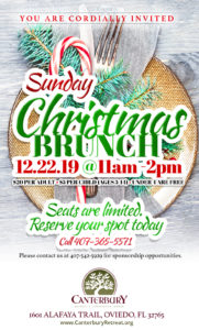 Christmas Brunch Flyer