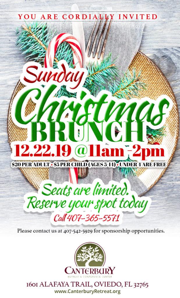 Christmas Brunch Flyer