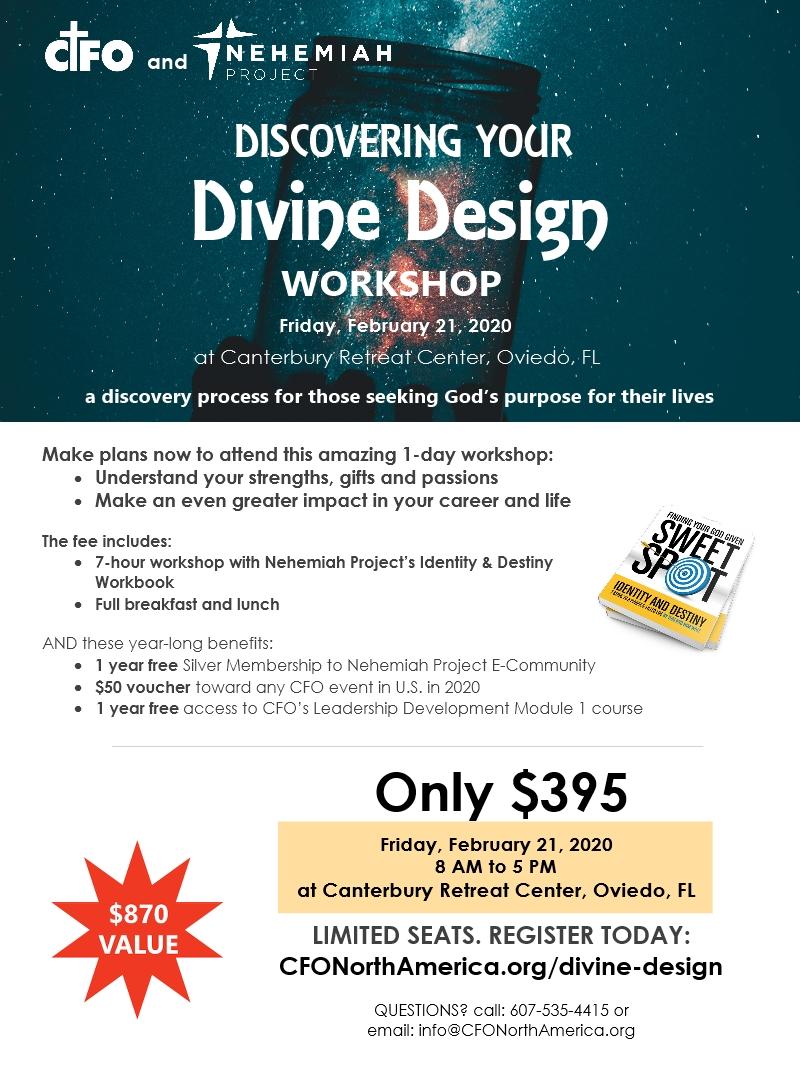 Divine Design Event Flyer