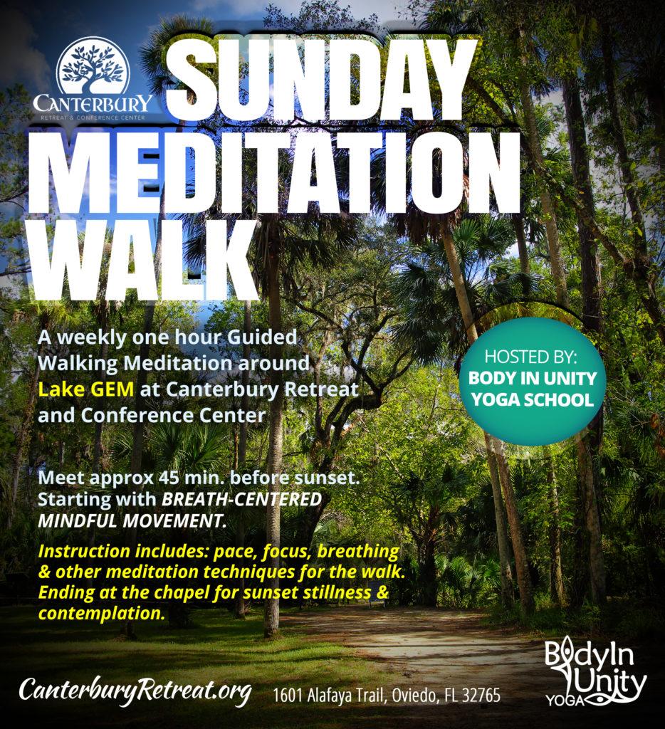 Guided Meditation Walk